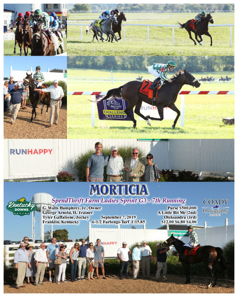 MORTICIA - SpendThrift Farm Ladies Sprint G3 - 7th Running - 09-07-19 - R09 - KD