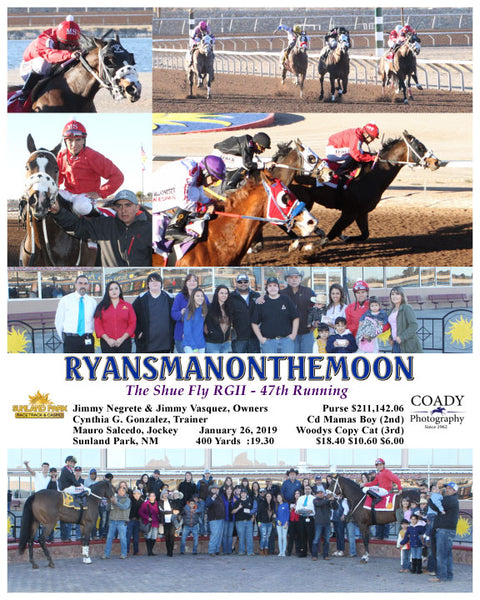 RYANSMANONTHEMOON - The Shue Fly RGII - 47th Running - 01-26-19 - R09 - SUN