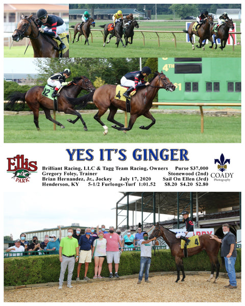 YES IT'S GINGER - 07-17-20 - R09 - ELP