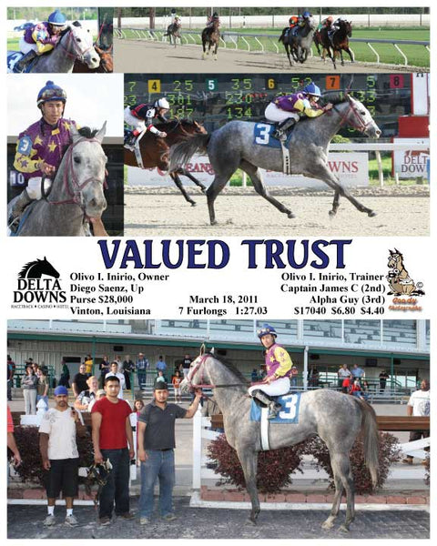 VALUED TRUST - 031811 - Race 01 - DED