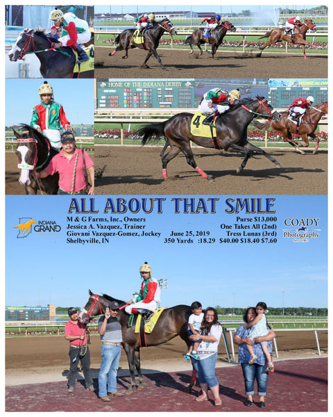 ALL ABOUT THAT SMILE - 062519 - Race 10 - IND