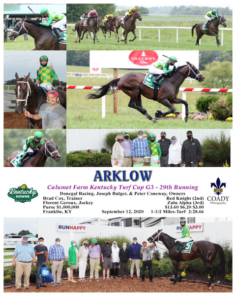 ARKLOW - Calumet Farm Kentucky Turf Cup G3 - 29th Running - 09-12-20 - R10 - KD