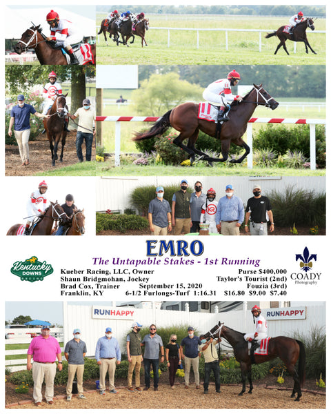 EMRO - The Untapable Stakes - 1st Running - 09-15-20 - R10 - KD