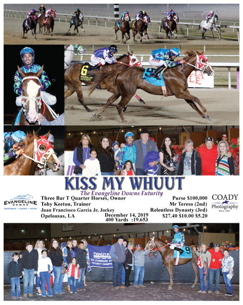 KISS MY WHUUT - The Evangeline Downs Futurity - 12-14-19 - R10 - EVD