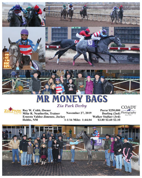 MR MONEY BAGS - Zia Park Derby - 11-27-19 - R10 - ZIA