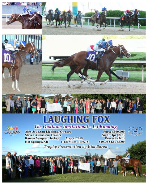 LAUGHING FOX - The Oaklawn Invitational - 1st Running - 05-04-19 - R11 - OP