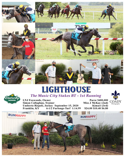 LIGHTHOUSE - The Music City Stakes BT - 1st Running - 09-15-20 - R11 - KD