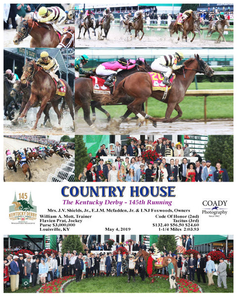 COUNTRY HOUSE - The Kentucky Derby - 145th Running - 05-04-19 - R12 - CD