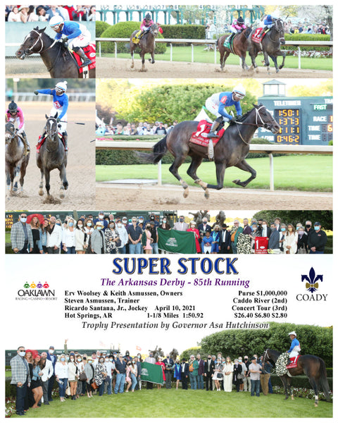 SUPER STOCK - The Arkansas Derby - 85th Running - 04-10-21 - R12 - OP