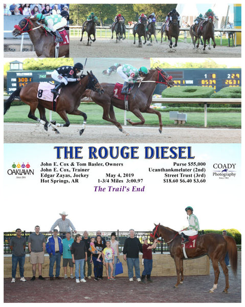 THE ROUGE DIESEL - 05-04-19 - R12 - OP