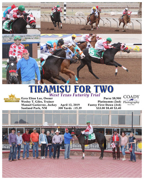 TIRAMISU FOR TWO - 041219 - Race 12 - SUN