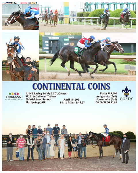 CONTINENTAL COINS - 04-10-21 - R13 - OP