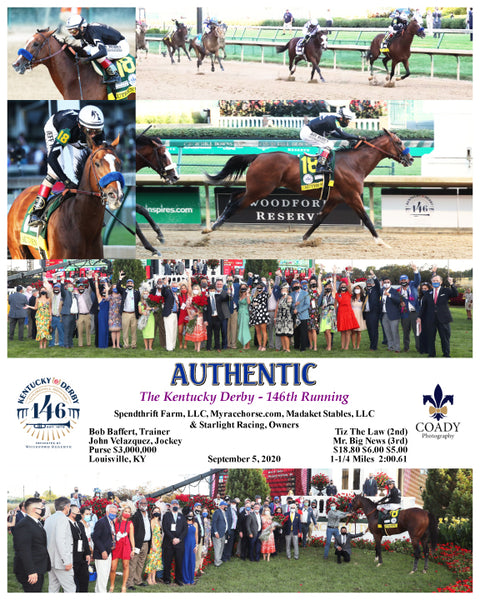 AUTHENTIC - The Kentucky Derby - 146th Running - 09-05-20 - R14 - CD - Composite