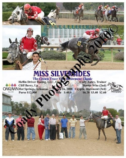 MISS SILVERSIDES  -  The Crown Trace Villa Retirem