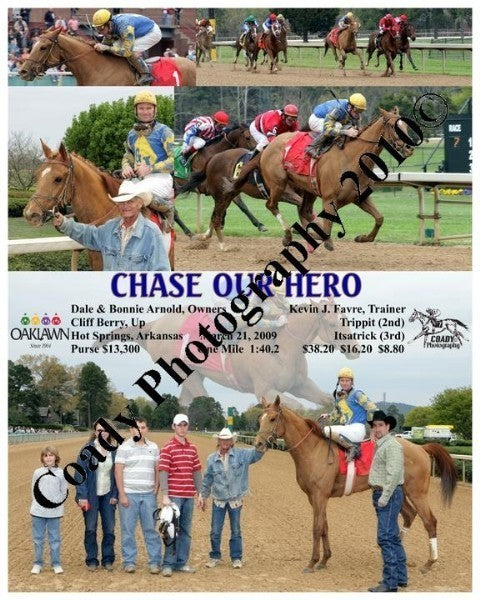 CHASE OUR HERO  -    -  3 21 2009