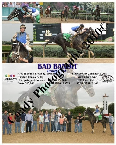 BAD BANDIT  -  Harriet s 39th  -  3 25 2009