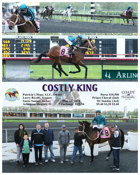 COSTLY KING - 051218 - Race 04 - AP