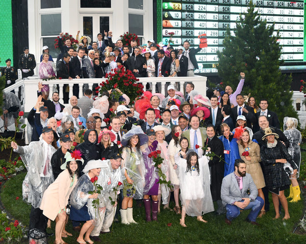 JUSTIFY - 050518 - Race 12 - CD The Kentucky Derby G1 - Trophy Group Photo 06