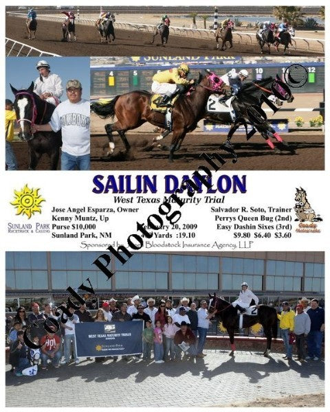 Sailin Daylon  -  West Texas Maturity Trial  -  2