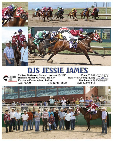 DJS JESSIE JAMES - 081317 - Race 03 - ARP