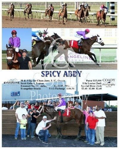 Spicy Abby - 041914 - Race 02 - EVD