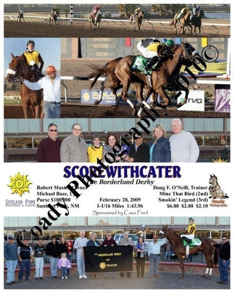 Scorewithcater  -  The Borderland Derby  -  2 28 2