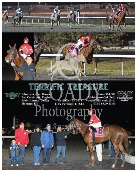 Terrific Treasure - 121314 - Race 07 - TP