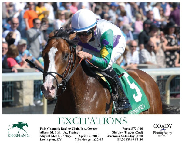 EXCITATIONS - 041217 - Race 06 - Inside Finish