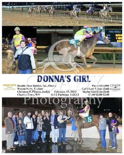Donna's Girl - 021513 - Race 04 - CT