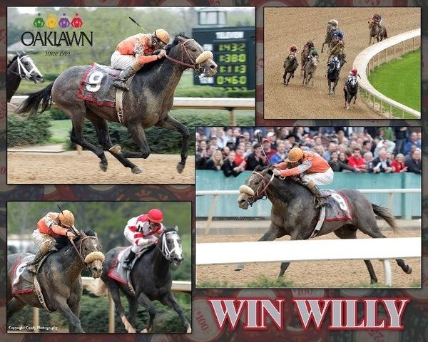 Win Willy - Rebel Stakes - 16x20