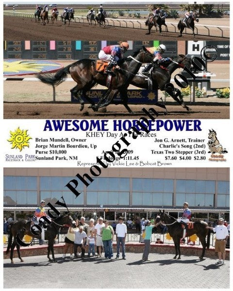 Awesome Horsepower  -  KHEY Day At The Races  -  4