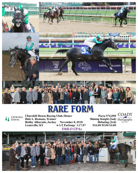 RARE FORM - 110818 - Race 06 - CD