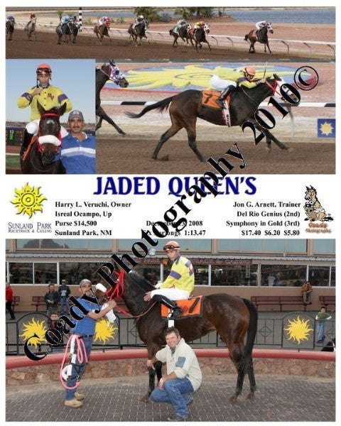 Jaded Queen s  -    -  12 13 2008