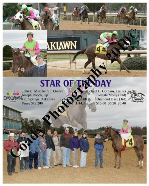 STAR OF THE DAY  -    -  2 17 2008
