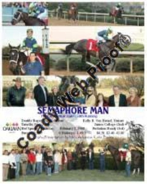 SEMEPHORE MAN  -  The King Cotton Stakes  58th Run