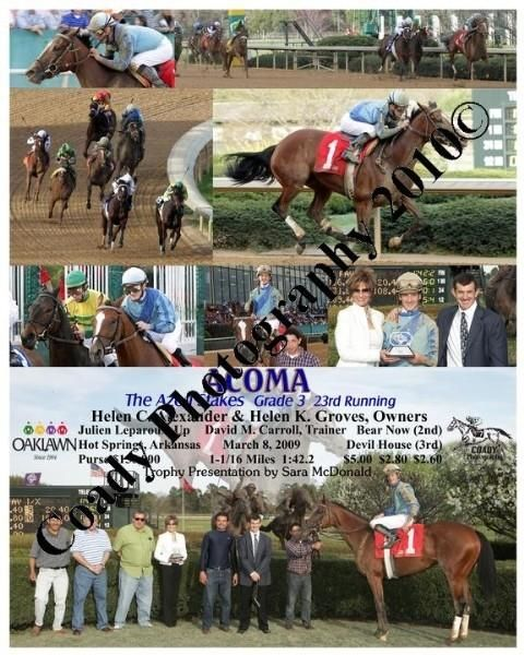 ACOMA  -  The Azeri Stakes  23rd Running  -  3 8 2