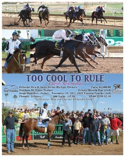 Too Cool To Rule - 111812 - Race 01 - TUP
