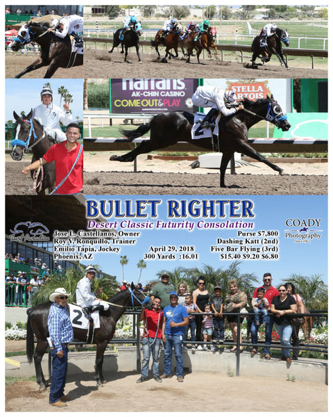 BULLET RIGHTER - 042918 - Race 03 - TUP