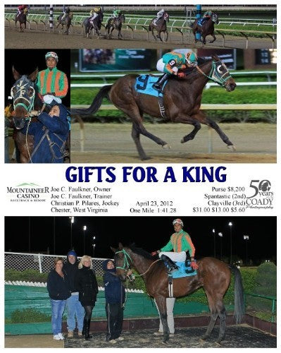 GIFTS FOR A KING - 042312 - Race 10