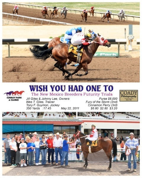 Wish You Had One To - 052211 - Race 05