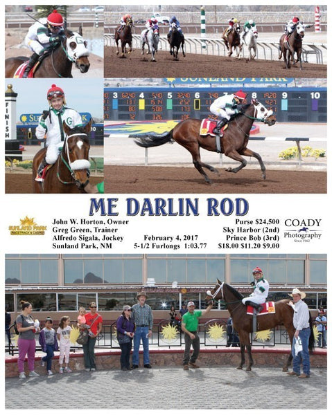 ME DARLIN ROD - 020417 - Race 02 - SUN