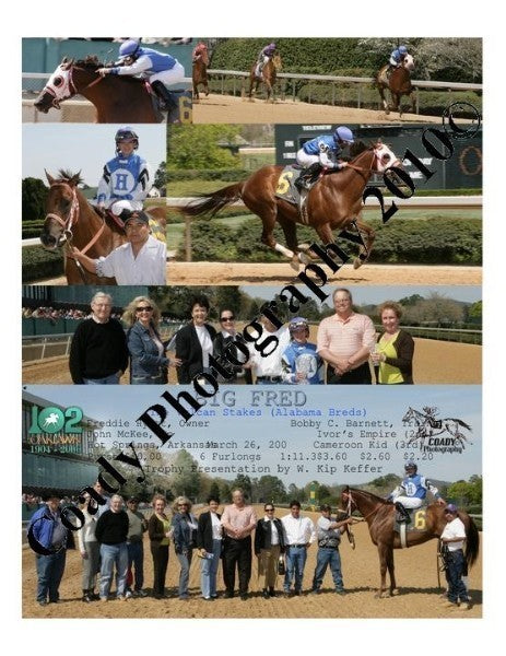 BIG FRED - The Vulcan Stakes (Alabama Breds) - 3 2