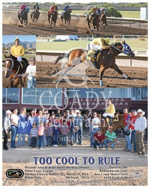 Too Cool To Rule - 032914 - Race 09 - RIL