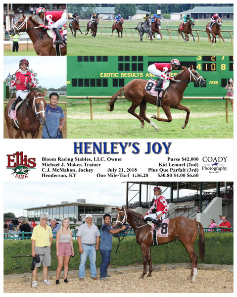 HENLEY'S JOY - 072118 - Race 09 - ELP