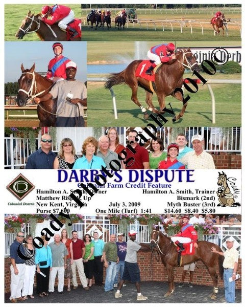 DARBY S DISPUTE  -  Colonial Farm Credit Feature