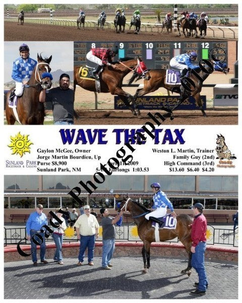 Wave the Tax  -    -  4 11 2009