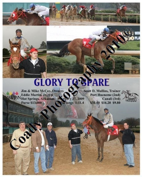 GLORY TO SPARE  -    -  2 27 2009