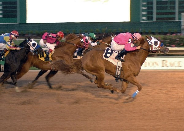 Jess B Mighty - Retama Park Futurity Trials