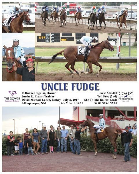 UNCLE FUDGE - 070817 - Race 03 - ALB