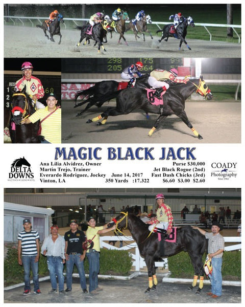 MAGIC BLACK JACK - 061417 - Race 09 - DED